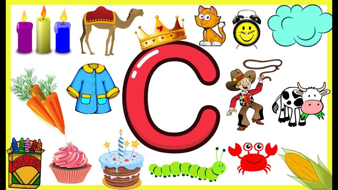 Letter CThings that begins with alphabet Cwords starts