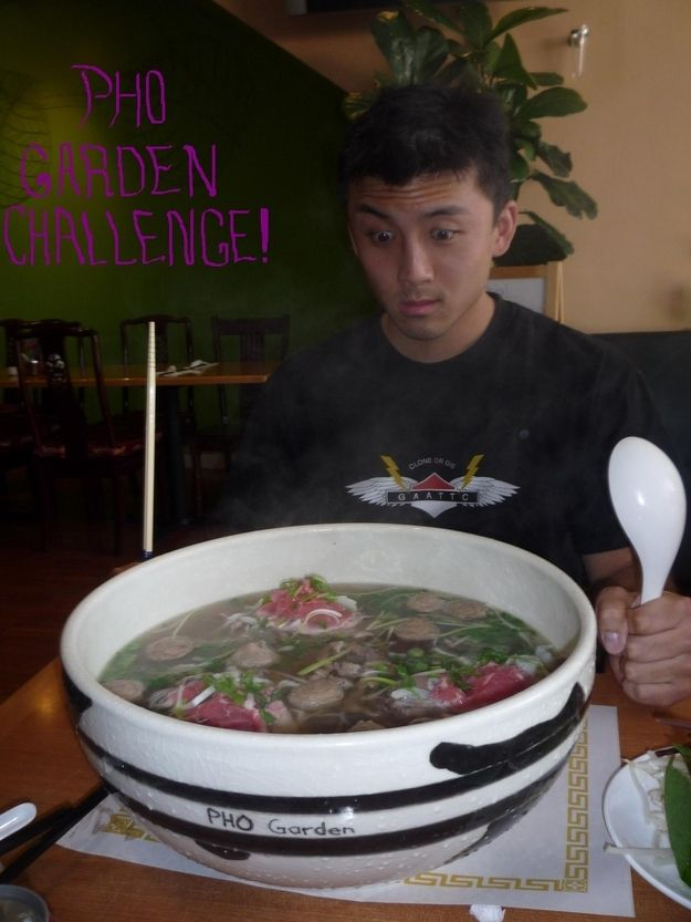 The 18 Most Insane Food Challenges Ever Pho Large Bowl