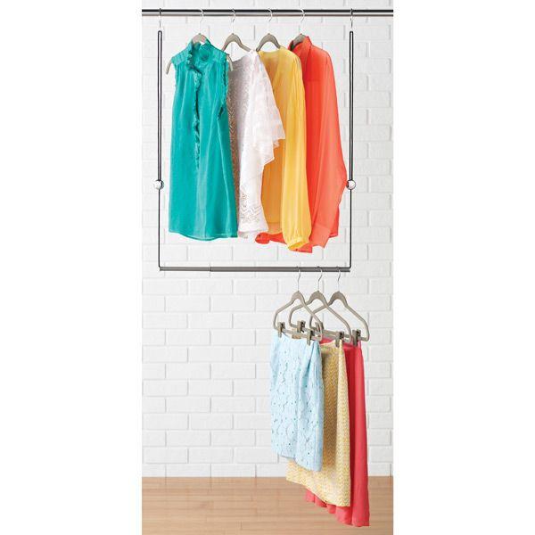 Dorm Favorite Dublet Adjustable Closet Rod Expander By
