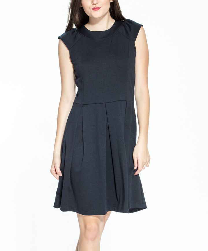 Black Fit & Flare Dress   womens dresses   Pinterest   Fit flare ...