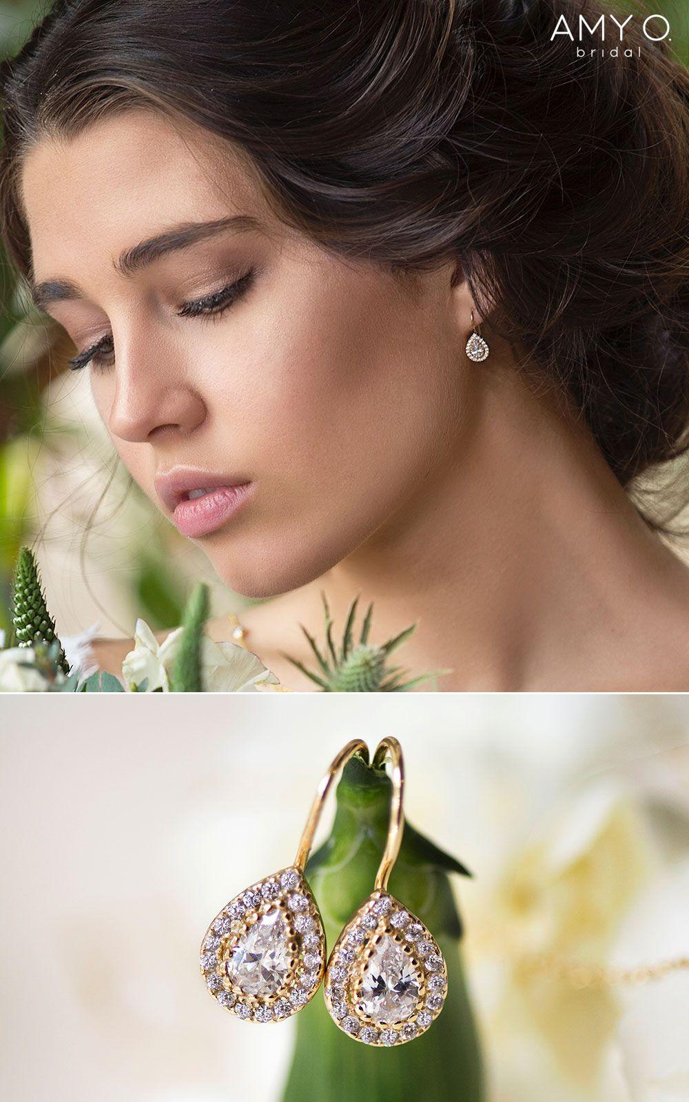 Margaux Pee Drop Earrings In 2019 Wedding