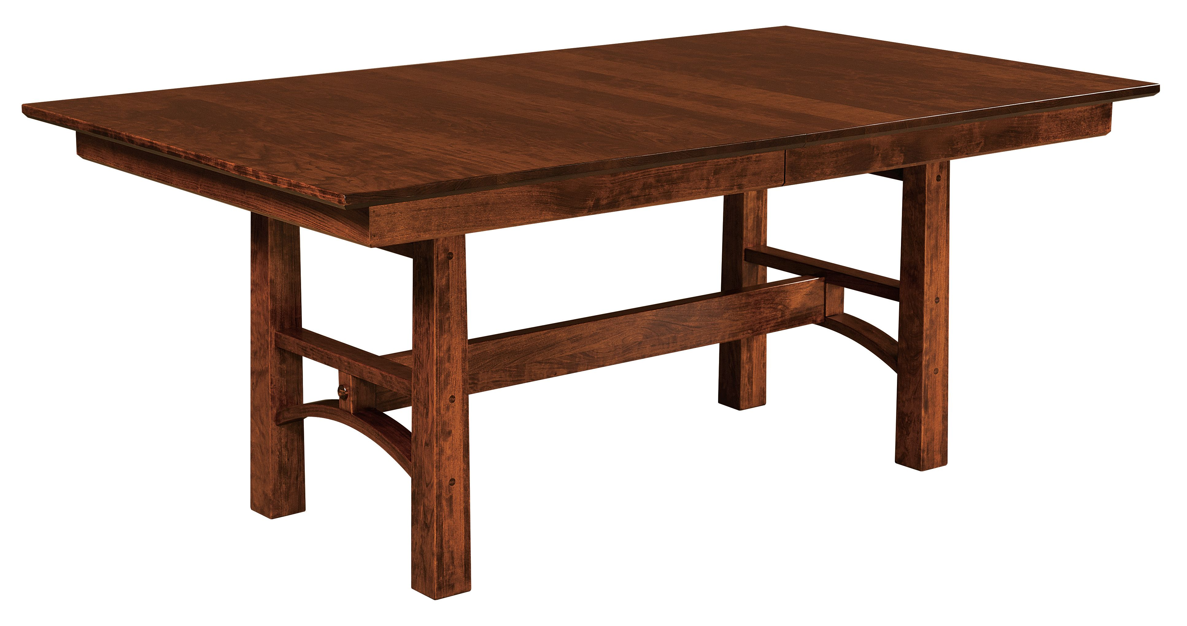 The bridgeport trestle table features a 1 rectangle top with the bridgeport trestle table features a 1 rectangle top with reverse chamfer edge and 3 geotapseo Choice Image