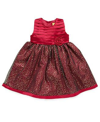 bf75dab13 Penelope Mack Baby Dress, Baby Girls Starry Night Holiday Dress ...