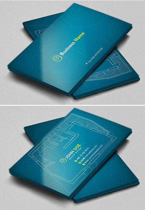 Architect Business Card 12