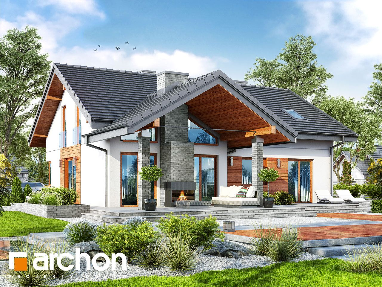 Projekt domu jednorodzinnego Dom w pierwiosnkach (G2) | Haus ideen ...