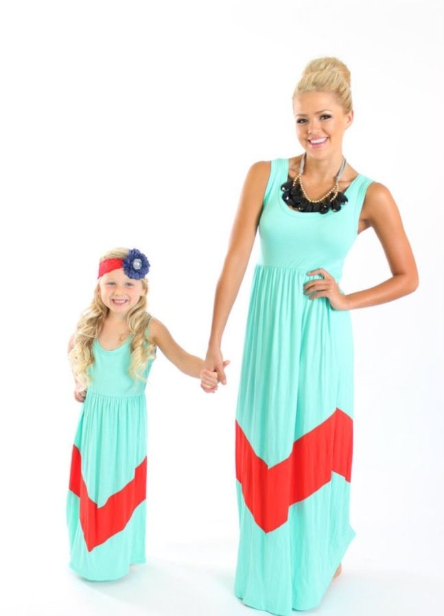 Mommy And Me Dresses A Baby Mother Daughter