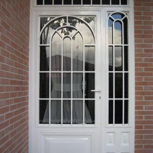Puertas de hierro porches el metalico pinterest doors security door and gate - Puertas para porches ...