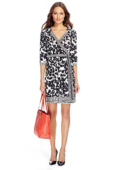 Tallulah Two Silk Jersey Wrap Dress | Diane Von Furstenburg | Pinterest