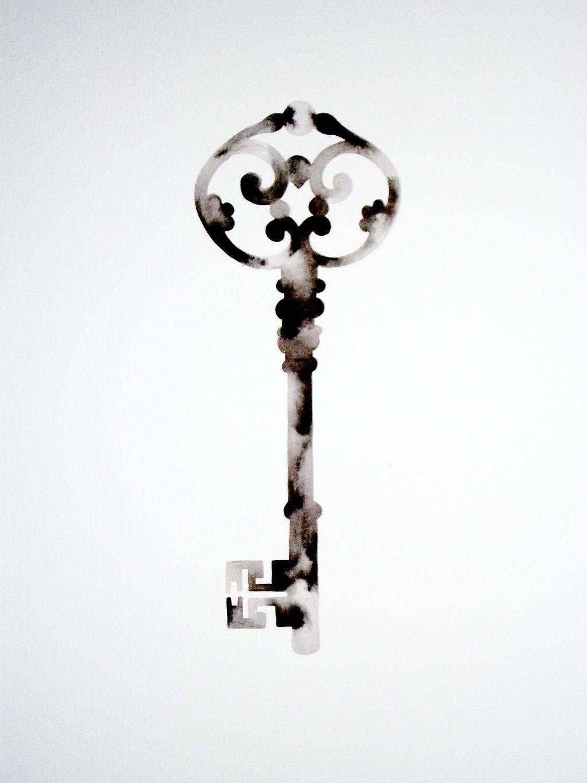antique keys wall decals | Unique Skeleton Keys  sc 1 st  Pinterest & antique keys wall decals | Unique Skeleton Keys | vines | Pinterest ...