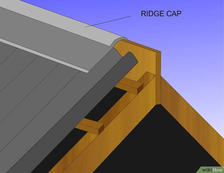 How To Install Corrugated Roofing 8 Steps With Pictures Corrugated Roofing Building A Deck Roofing