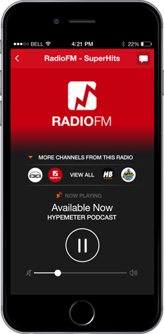 My radio app It's Time To Go Mobile! - Create a Great Mobile Radio App at an Affordable Price.. Full Application Control + Unlimited Push-Notifications + Proffesional Design http://www.listen2myapp.com