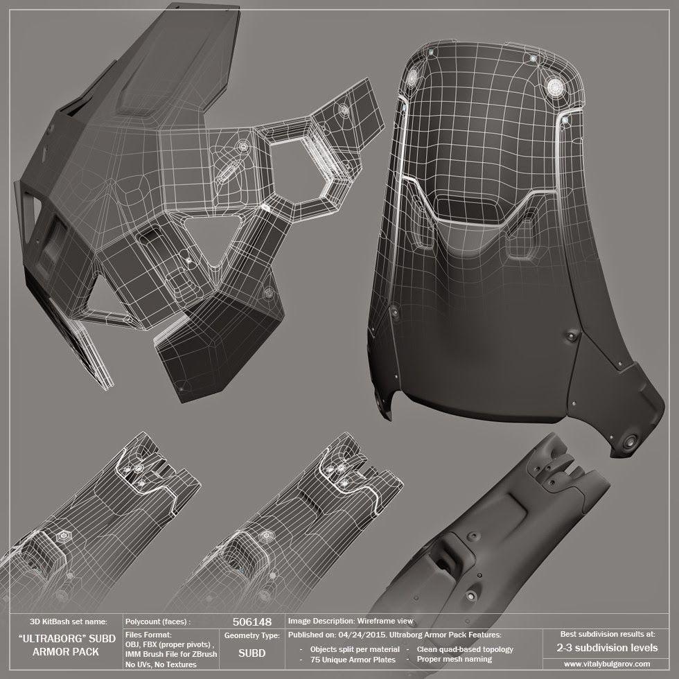 Design Operations of Vitaly Bulgarov | 3D and sculpting