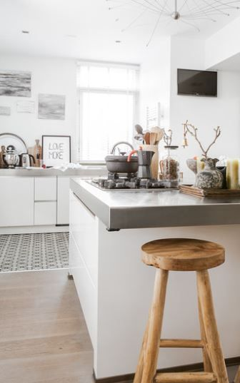 KUECHENZEILE + TRESEN HAUS ST Pinterest Tresen, Küche und - küchen mit tresen