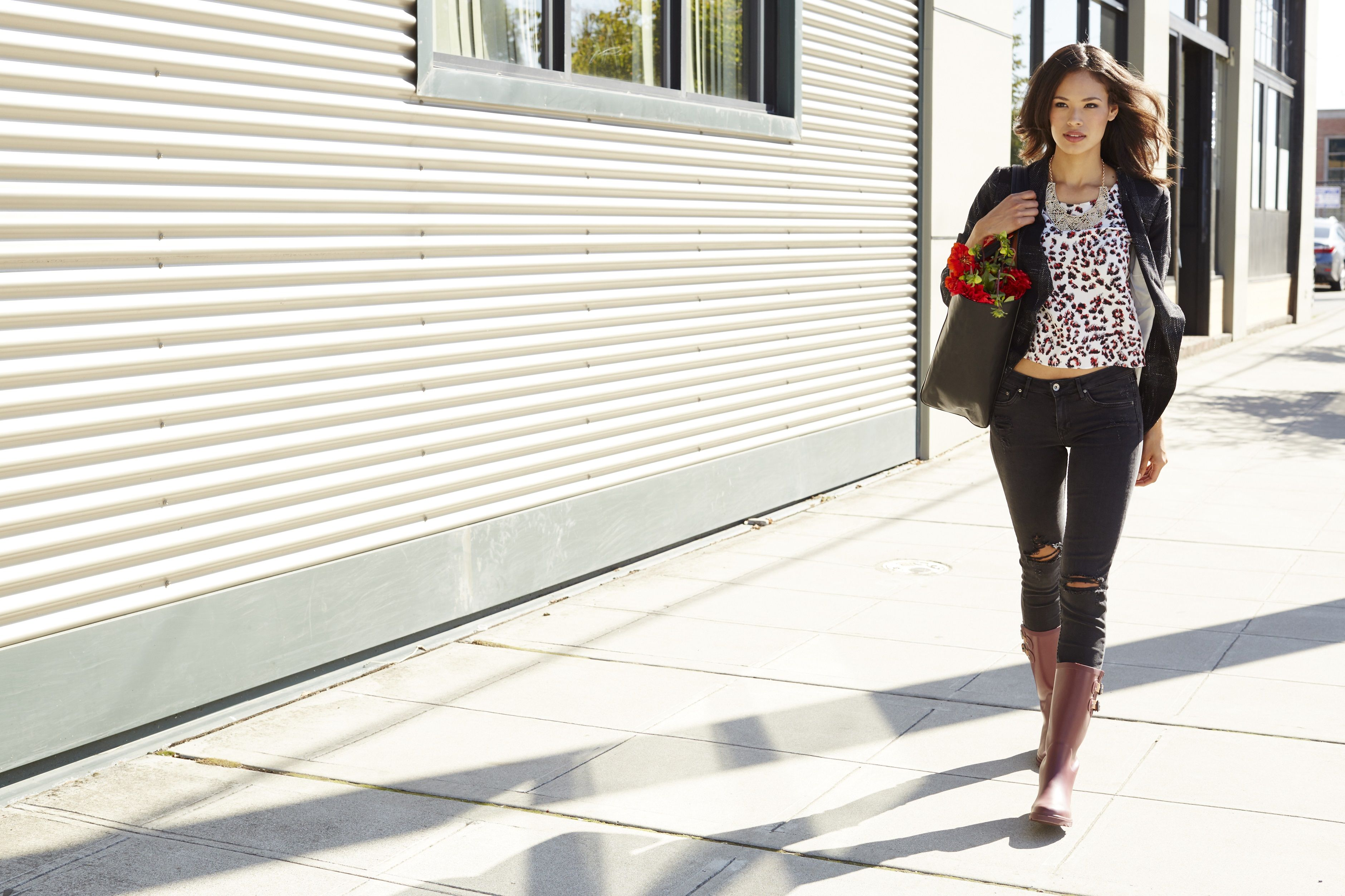 Rain boots for city living! Chooka 'top solid' boots