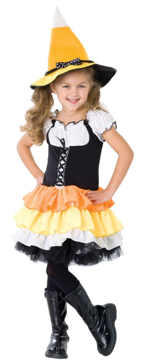 Candy corn witch costume   Holidays   Pinterest   Witch costumes ...