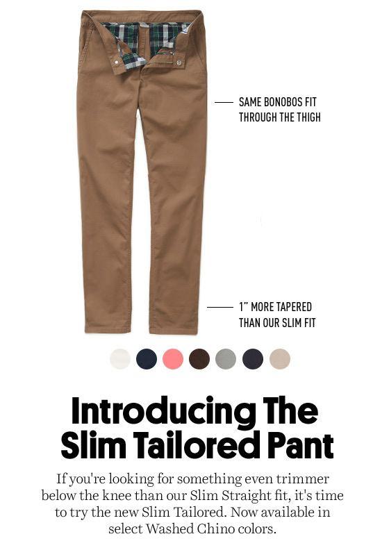Bonobos Slim Tailored Washed Chinos Men\u0027s Pants Pinterest