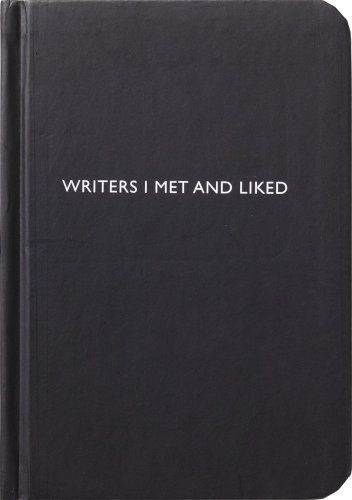 Archie Grand Notizbuch - Writers I met and liked