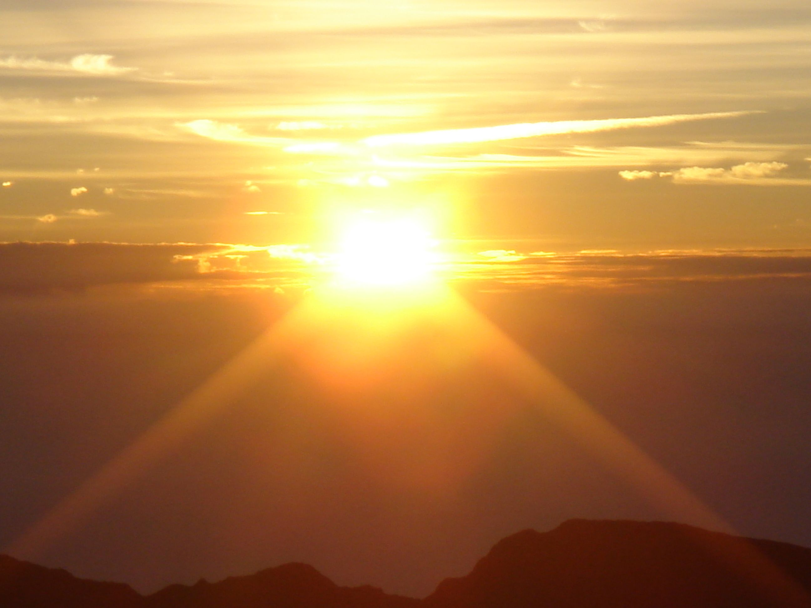 Sunrise in Maui, HI....nothing more peaceful!