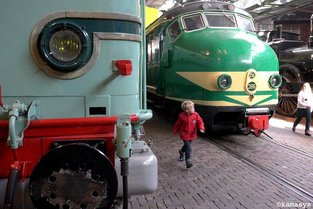 Fun at the Railway Museum - Utrecht NL
