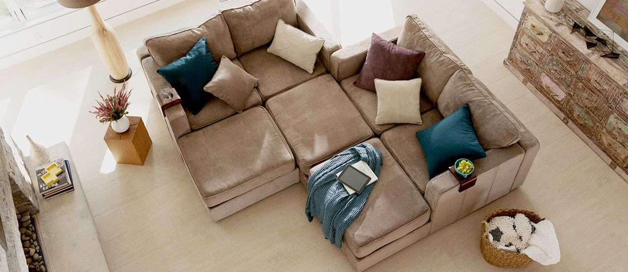 Modular Furniture For Video Game Room Machine Washable Fabric