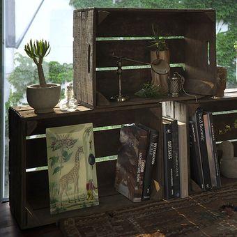 Potato box shelves