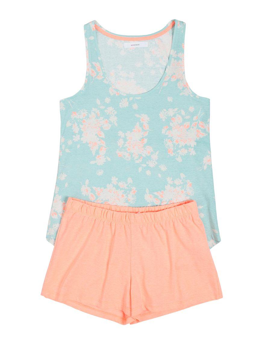 women'secret | Lots of fun | Neon Fun | Short viscose printed pyjama