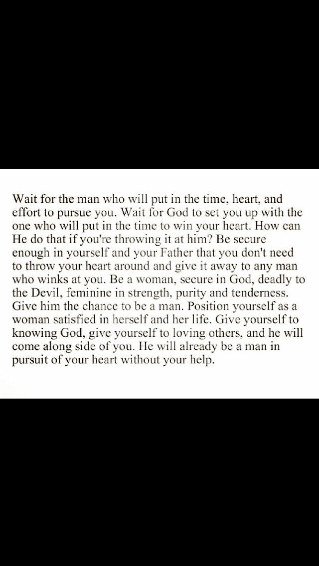 Wait For The Right Guy Put Everything In Gods Hands Quotes