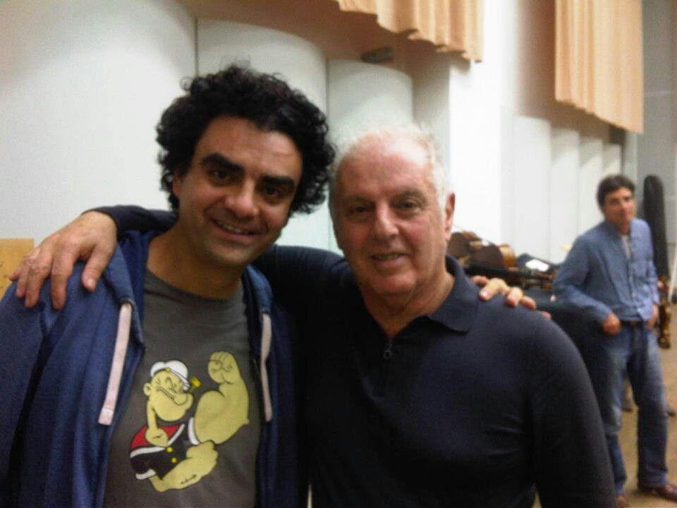 Rolando Villazón y Daniel Barenboim