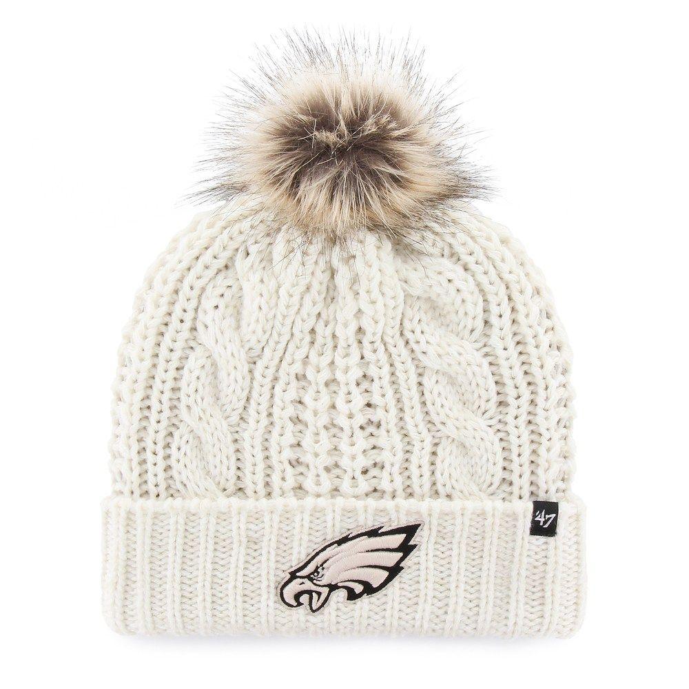 Women s  47 Brand Philadelphia Eagles Meeko Cuffed Knit Hat ... 51527fa2f