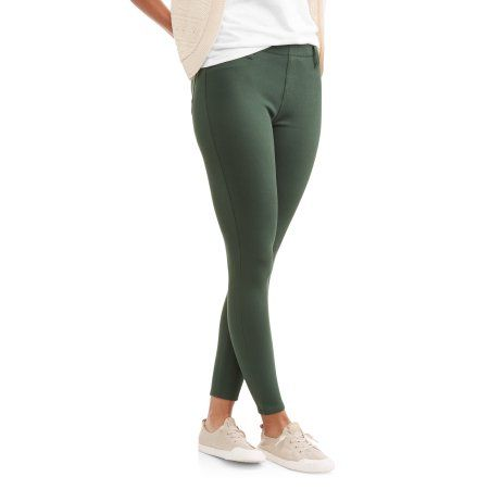 5d4a1f897e1977 Free 2-day shipping on qualified orders over $35. Buy Faded Glory Women's  Full Length Knit Color Jegging at Walmart.com