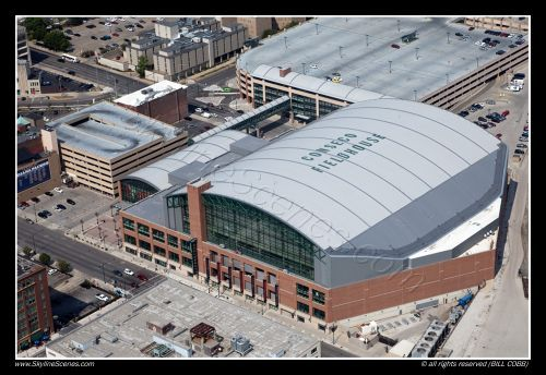 The Conseco Fieldhouse Indianapolis Indiana Now Called Bankers