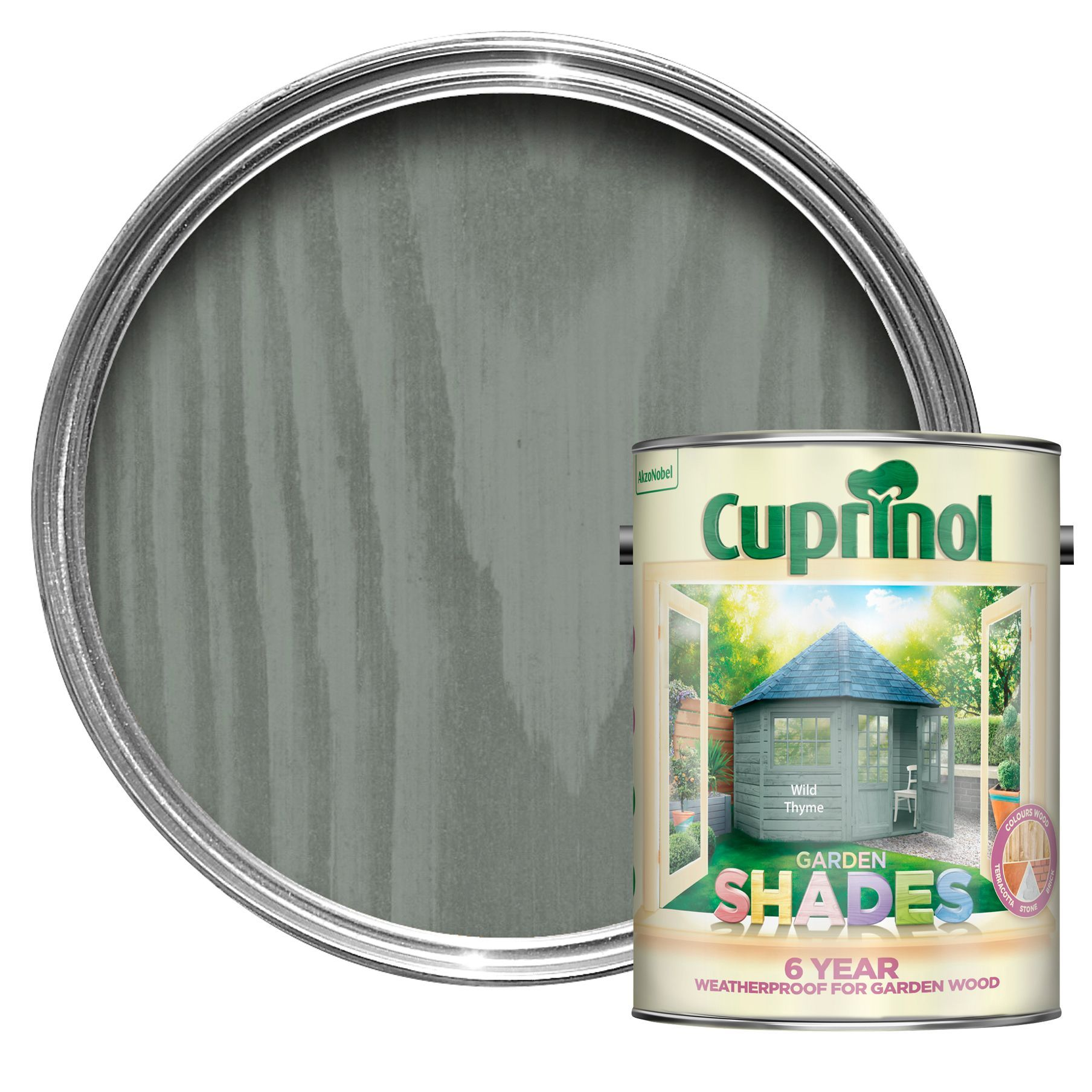 Fence paint? Cuprinol Garden Shades Wild Thyme Matt Wood