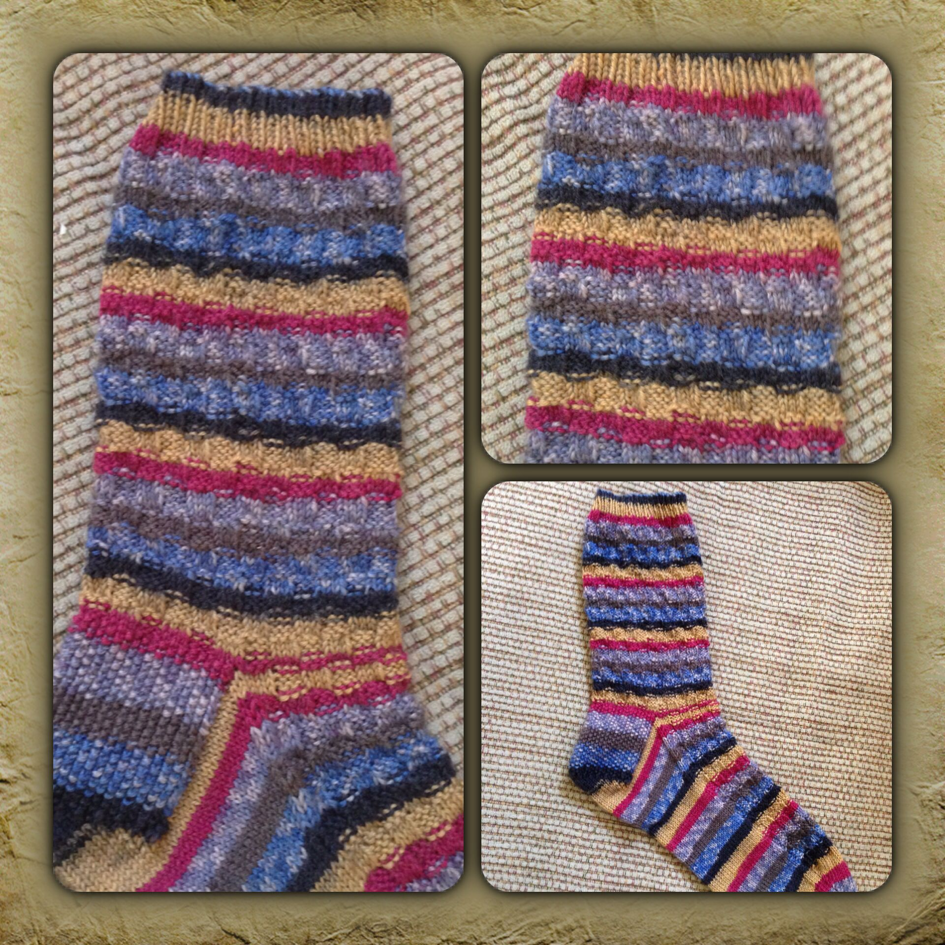 Love knitting socks!!!