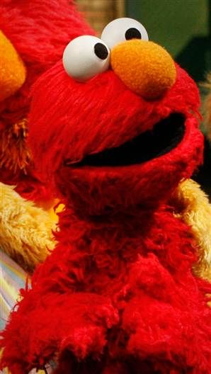 Sesame Street Elmo  Realizing he is a Muppet am attracted at
