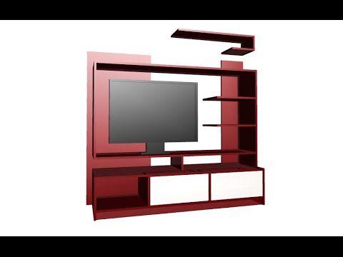 modelo de muebles para tv y equipo de sonido - Buscar con Google