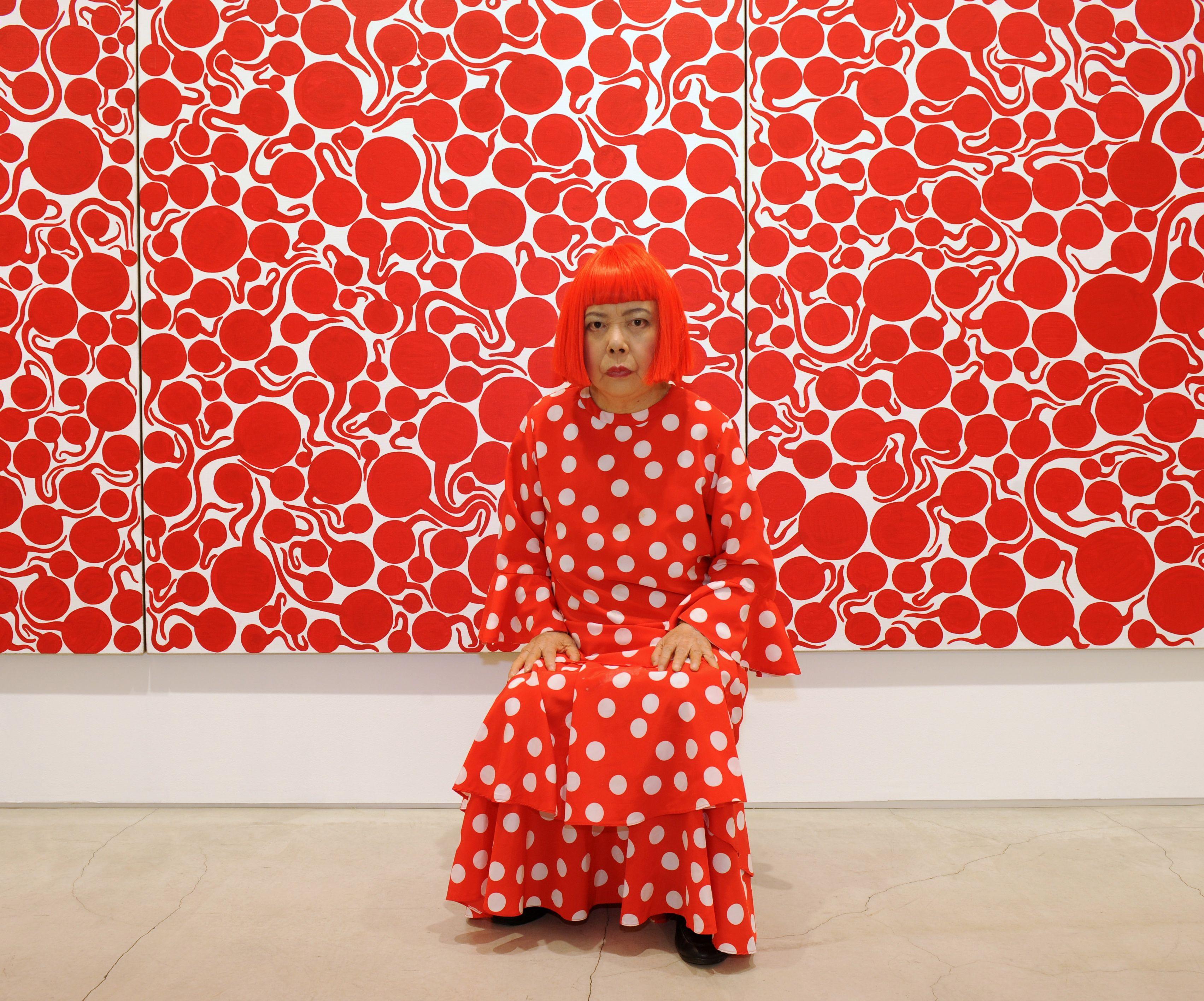 TATE MODERN London Kusama Exhibit, until June 5th! yayoi