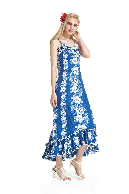 f6c9b56e5c9 Made In Hawaii Women s Hawaiian Luau Dress Traditional Muumuu ...