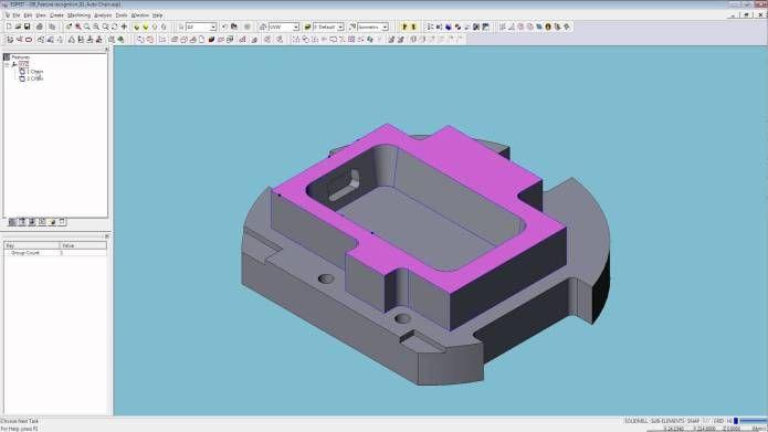 Lập trình gia công 3D trên phần mềm DP Technology ESPRIT
