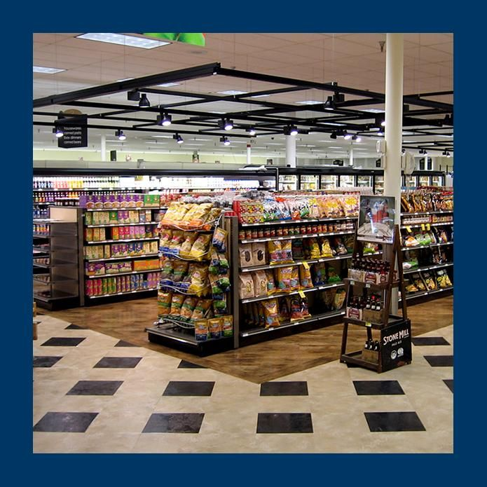 Supermarket Lighting From Contech Grocery