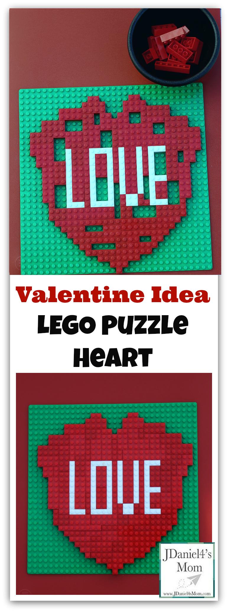 Valentine Ideas- LEGO Heart Puzzle   JDaniel4's Mom (From ...
