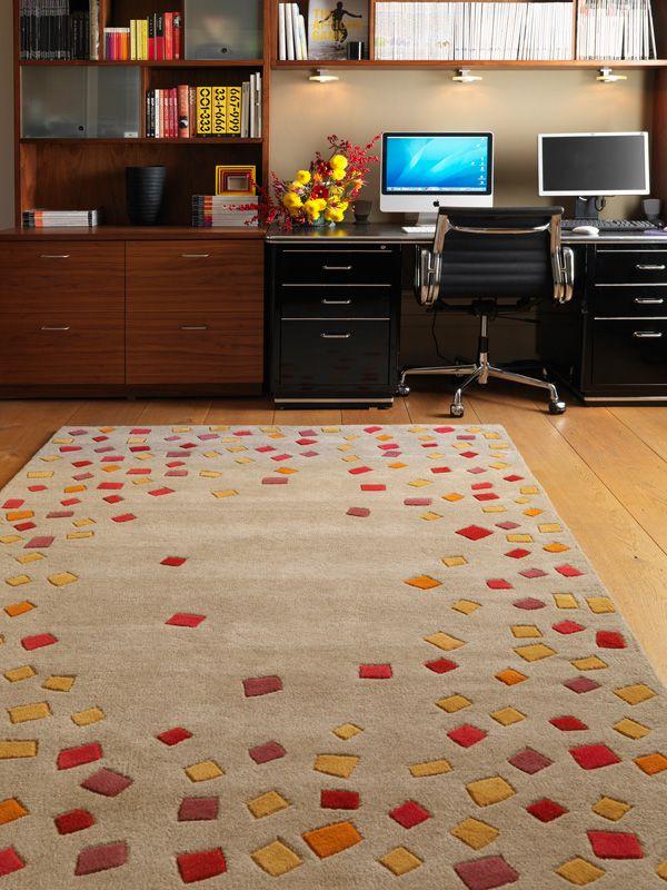 benuta designer teppich matrix wolle beige / benuta designer rug, Hause deko