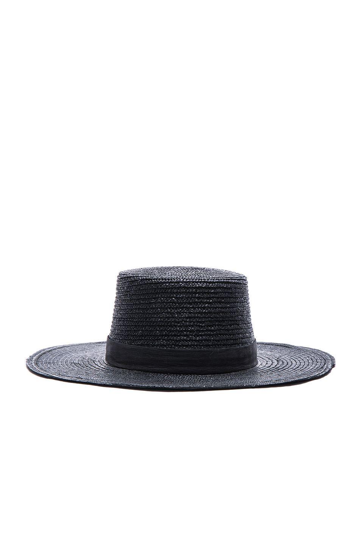 Need this hat for summer. Janessa Leone Calla Bolero Hat in Black ... 0ffdbc8d1099