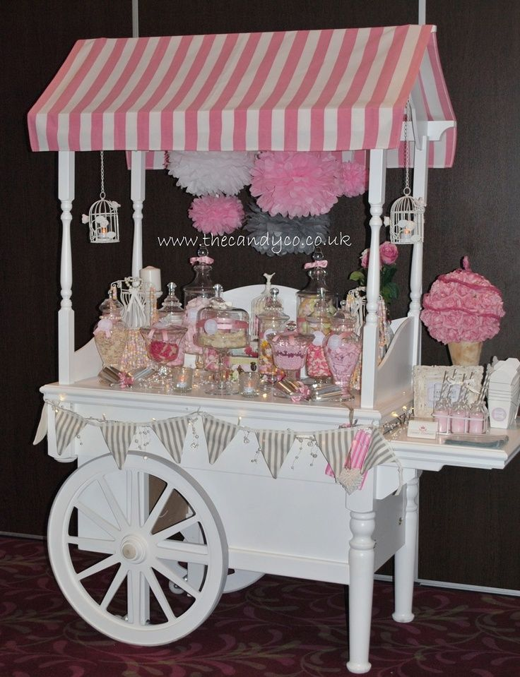 The Candy Company Cart