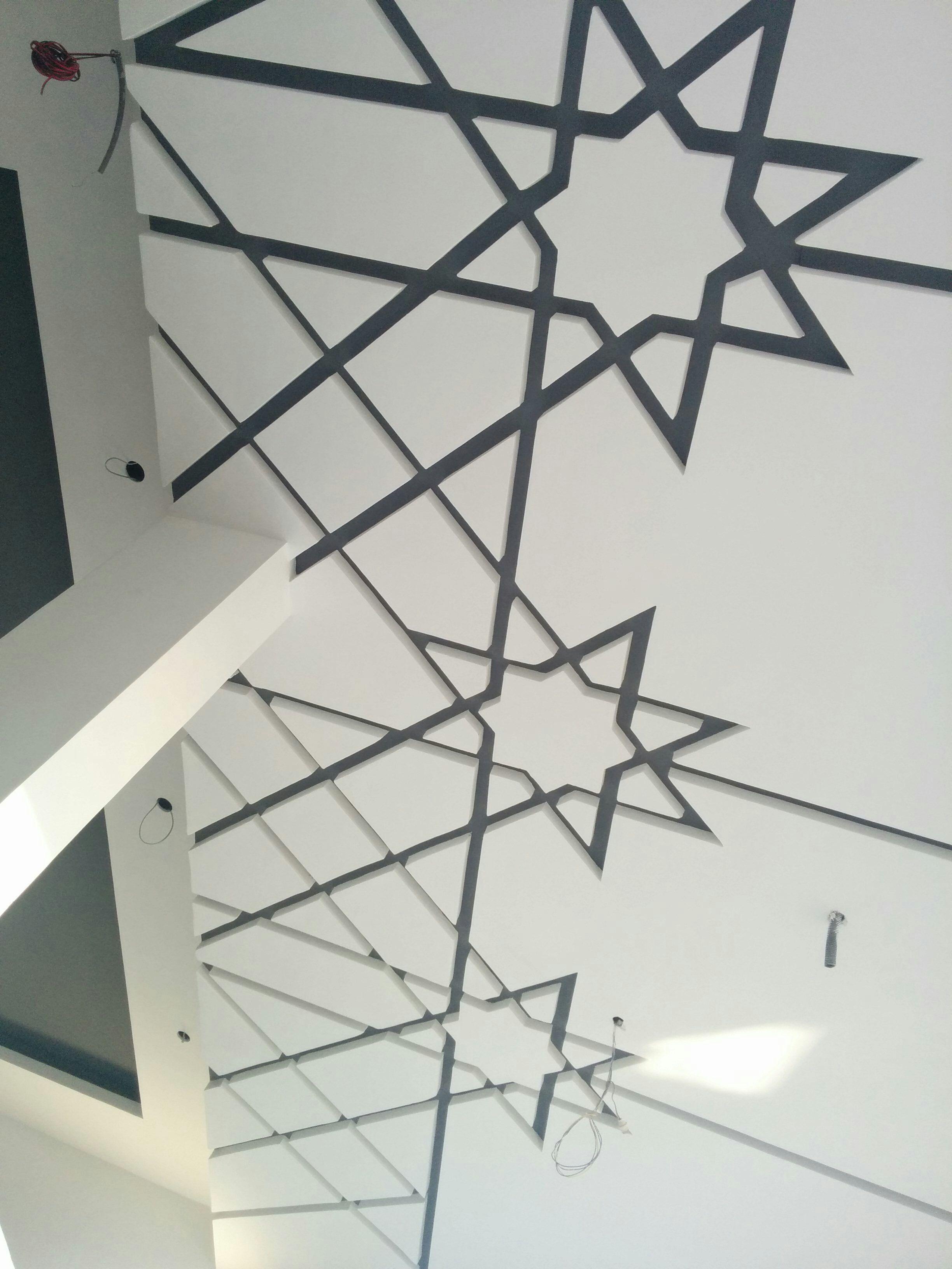 Islamic Pattern ceiling | ART PLATRE | Pinterest | Ceiling ...