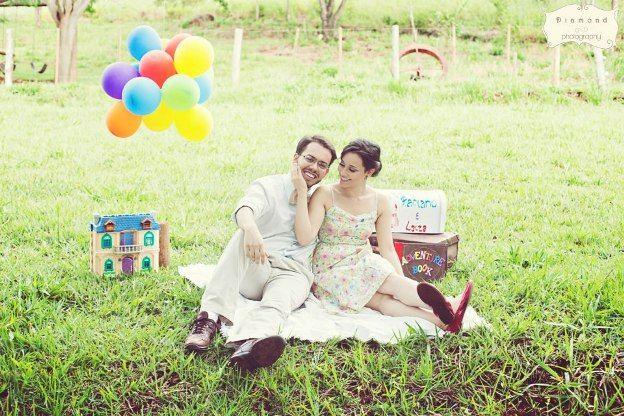 E-session: Laíza e Fabiano Inspirado no Filme Up!
