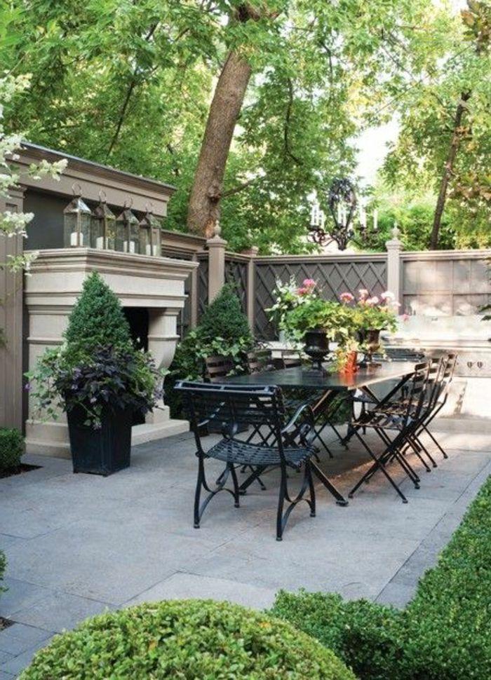 idee deco petit jardin et meubles dexterieur modernes
