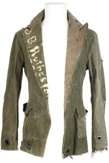 f91d6ac1b62 Greg Lauren Vintage Military Canvas Blazer Jacket - Lyst | rE mAdE ...