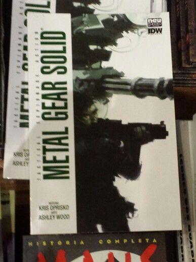 Metal Gear Solid Livraria Cultura