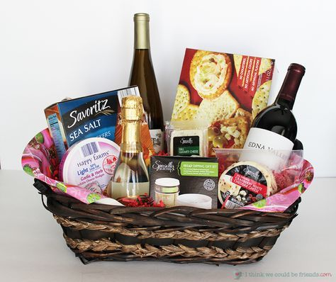 Diy wine gift basket ideas for christmas