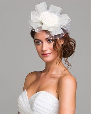 Lucy Couture 'Bettsey' Rosette Cluster Ribbon Headband